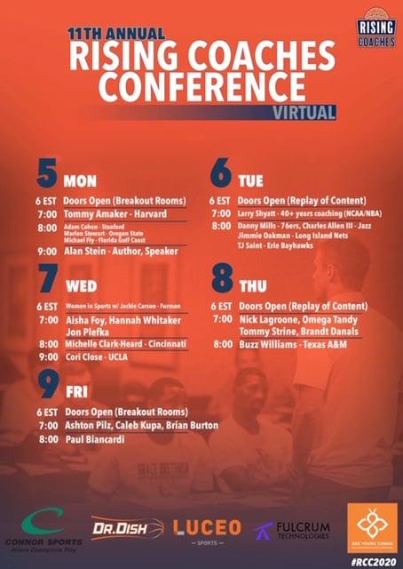 RCC Schedule